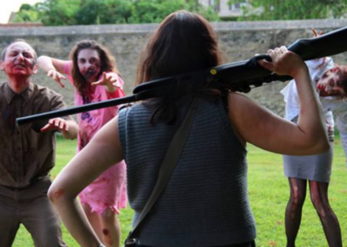 Team Building Attaque Zombies